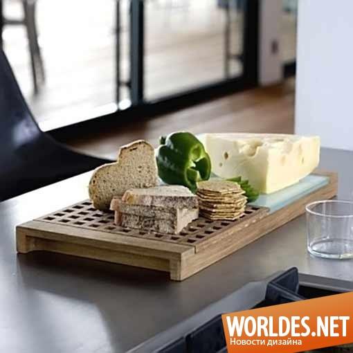 дизайн, дизайн аксессуаров, дизайн аксессуаров для кухни, дизайн доски для резки хлеба, доска, доска для резки хлеба и сыра