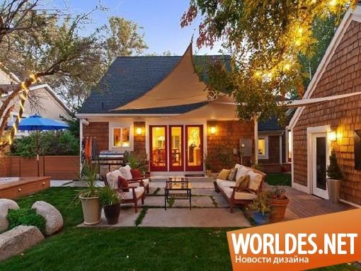 архитектурный дизайн, архитектурный дизайн дома, архитектурный дизайн домов, дизайн домов, дизайн дома, дом, дома, два дома в одном дворе