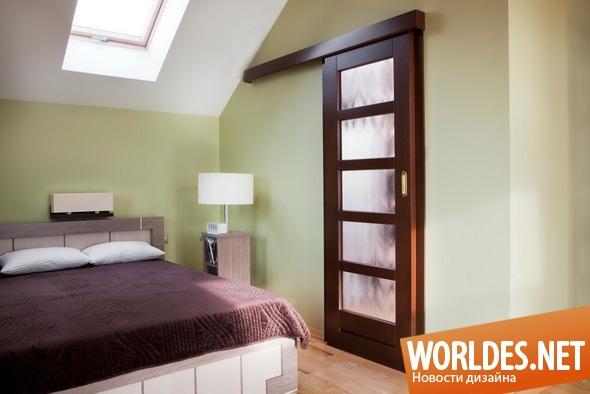 декоративный дизайн, декоративный дизайн дверей, дизайн двери, дверь, современная дверь, дверь для маленьких комнат