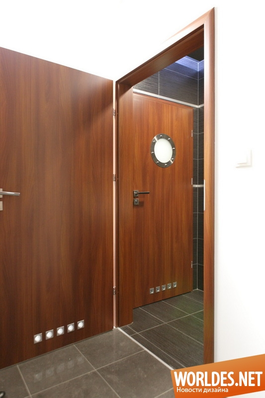 декоративный дизайн, декоративный дизайн дверей, двери, декоративные двери, двери с иллюминаторами, современные двери, оригинальные двери