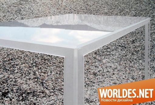 дизайн мебели, дизайн стола, дизайн оригинального стола, стол, столик, оригинальный стол, необычный стол, красивый стол, современный стол, креативный стол, двойной стол