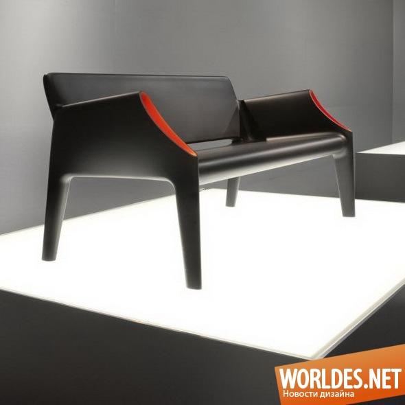 дизайн мебели, дизайн софы, мебель, современная мебель, софа, современная софа, оригинальная софа, двухместная софа