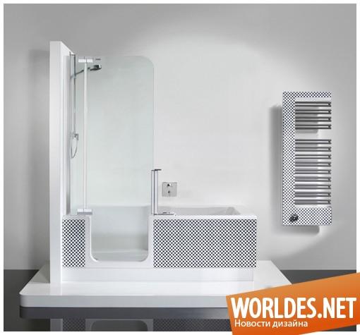 дизайн ванной комнаты, дизайн ванных комнат, ванная комната, ванные комнаты, дизайн ванной, ванная, элегантная ванная комната, современная ванная комната, ванна, современная ванна, душ, современный душ, многофункциональная ванна, душ и ванна в одном