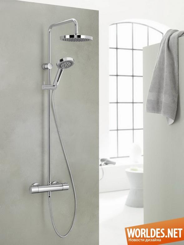 дизайн ванной комнаты, дизайн душевой панели, ванная комната, современная ванная комната, душевая панель, практичная душевая панель