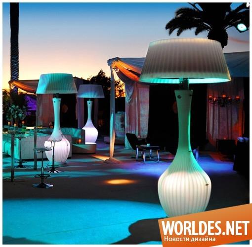 дизайн, декоративный дизайн, декоративный дизайн лампы, дизайн лампы, дизайн освещения, эффектные лампы, лампы для сада, лампы для террасы