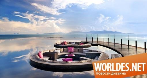 архитектурный дизайн, архитектурный дизайн дома, дизайн дома, дом, эффектный дом, красивый дом, шикарный дом, дом в Таиланде