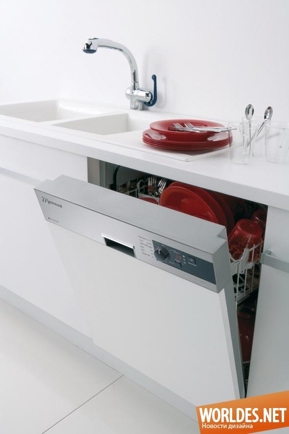 дизайн бытовой техники, дизайн посудомоечной машины, посудомоечная машина, экономная посудомоечная машина, практичная посудомоечная машина