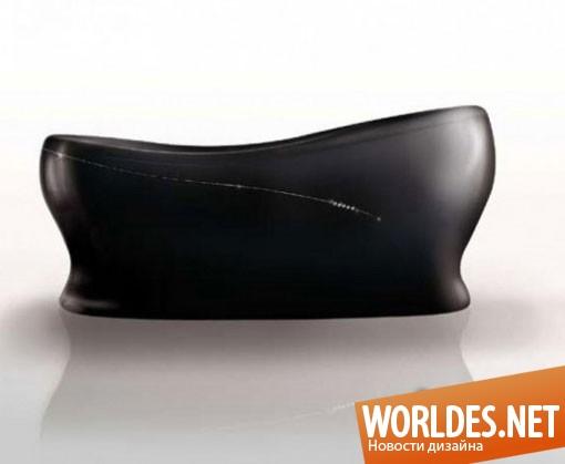 дизайн ванной комнаты, дизайн ванной, ванная, ванна, современная ванна, современная ванная, элегантная ванна, черная ванна