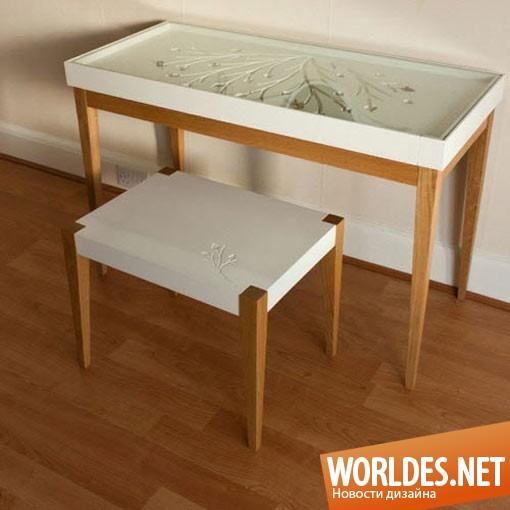 дизайн мебели, дизайн элегантной мебели, дизайн столика, дизайн стула, мебель, элегантная мебель, современная мебель