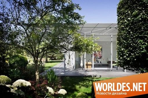 архитектурный дизайн, архитектурный дизайн дома, дизайн дома, дизайн замечательного дома, дом, современный дом, оригинальный дом, прозрачный дом, открытый дом, красивый дом, стеклянный дом, большой дом, загородный дом