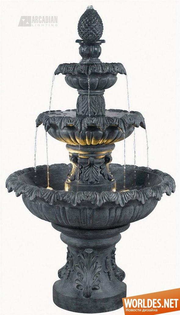 ландшафтный дизайн, дизайн сада, дизайн фонтана, дизайн фонтана для сада, фонтан, фонтан для сада, садовый фонтан, красивый фонтан, небольшой фонтан, домашний фонтан