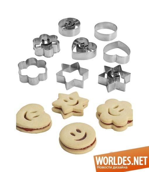 дизайн аксессуаров, дизайн аксессуаров для кухни, дизайн кухонных аксессуаров, дизайн форм для печенья, формы для выпечки печенья, формы для выпечки печенья со смайликами