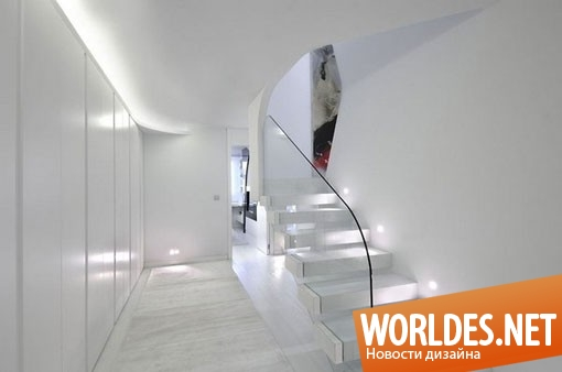 архитектурный дизайн, архитектурный дизайн квартиры, квартира, дизайн квартиры, современная квартира, квартира в футуристическом стиле, футуристическая квартира, большая квартира, светлая квартира, красивая квартира
