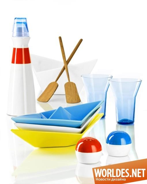 дизайн аксессуаров, дизайн аксессуаров для кухни, дизайн кухонных аксессуаров, дизайн графина, графин, графин в форме маяка, графин с рюмками, современный графин