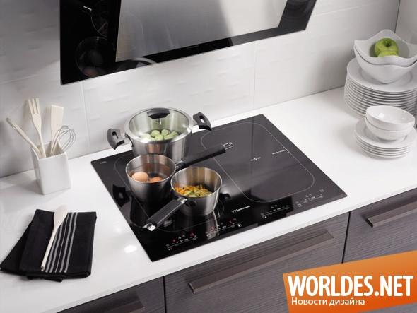 дизайн бытовой техники, дизайн кухонной плиты, плита, кухонная плита, плиты, индукционные плиты, современные кухонные плиты