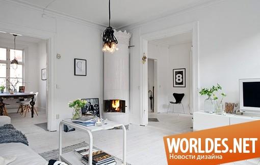 дизайн интерьеров, дизайн интерьера квартиры, интерьер квартиры, квартира, квартира в скандинавском стиле, скандинавская квартира, интерьер квартиры в скандинавском стиле