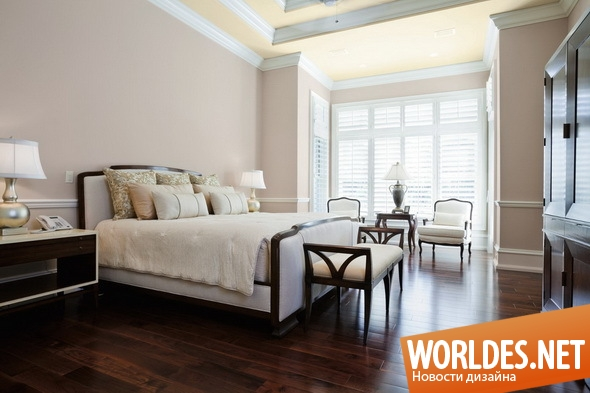 дизайн интерьеров, дизайн интерьера, дизайн интерьера спальни, дизайн спальни, спальня, классическая спальня, интерьер спальни