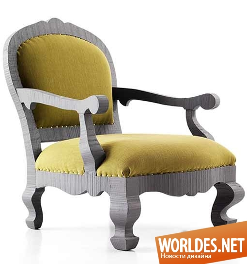 дизайн, дизайн мебели, дизайн кресел, кресла, современные кресла, кресла в стиле ретро, коллекция кресел от Паолы Навоне
