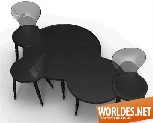 дизайн мебели, мебель, коллекция мебели, оригинальная мебель, современная мебель, стулья, оригинальные стулья, практичная мебель, многофункциональная мебель, черная мебель