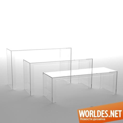 дизайн, дизайн мебели, дизайн необычной мебели, дизайн оригинальной мебели, мебель, коллекция мебели, невидимая мебель, необычная мебель