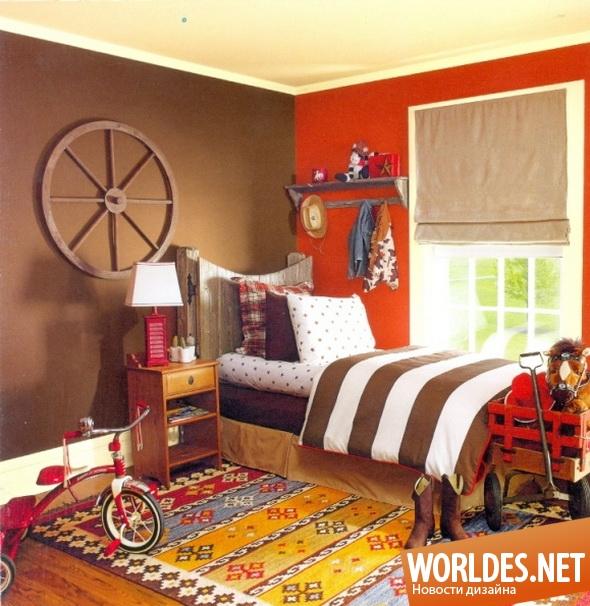 дизайн интерьеров, дизайн интерьера, интерьер детской комнаты, детская комната, комната для мальчика