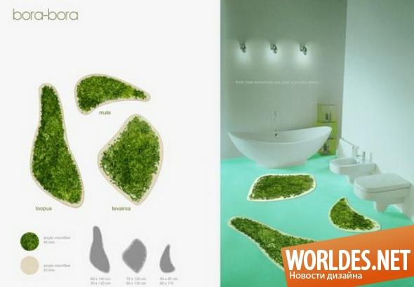 дизайн ванной комнаты, дизайн ковриков для ванной комнаты, ванная комната, коврики, коврики для ванной комнаты, коврики для ванной, современные коврики