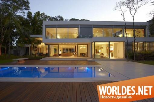 архитектурный дизайн, архитектурный дизайн дома, дизайн дома, дом, красивый дом, современный дом, большой дом