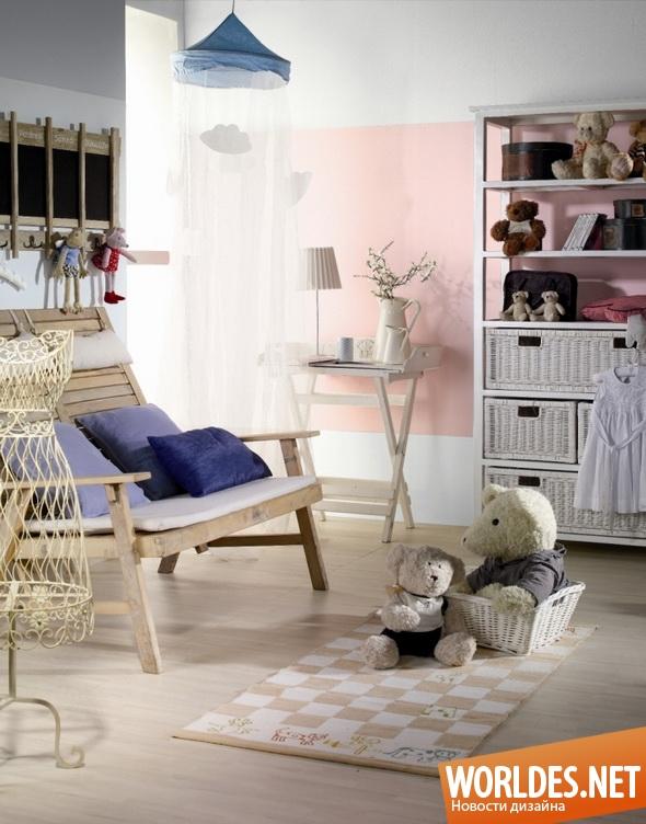 декоративный дизайн, декоративный дизайн настенных покрытий, дизайн красок, краска, краски, настенная краска, краска для детской комнаты
