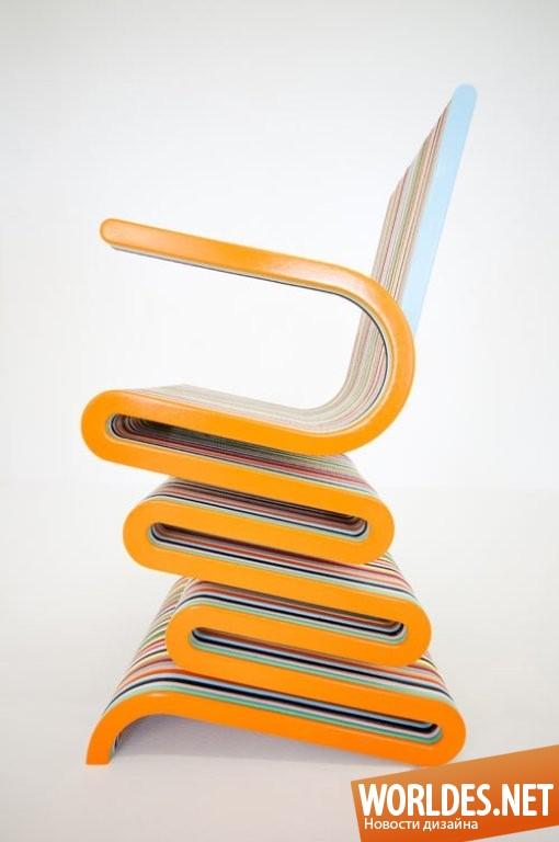 дизайн мебели, дизайн кресел, дизайн кресла, кресла, современные кресла, красочные кресла, оригинальные кресла, полосатые кресла, яркие кресла, красочные полосатые кресла