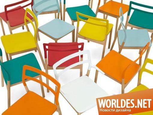 дизайн мебели, дизайн стульев, стулья, яркие стулья, оригинальные стулья, красочные стулья, красивые стулья