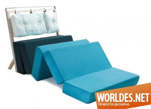 дизайн мебели, дизайн кресла, дизайн кровати, кресло-кровать, кресло и кровать в одном, мебель в минималистском стиле, практичная мебель, современная мебель