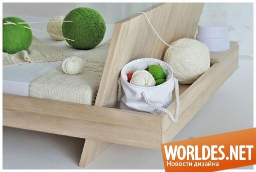 дизайн мебели, дизайн мебели для спальни, мебель для спальни, современная мебель для спальни, кровать, практическая кровать, кровать с местом для хранения