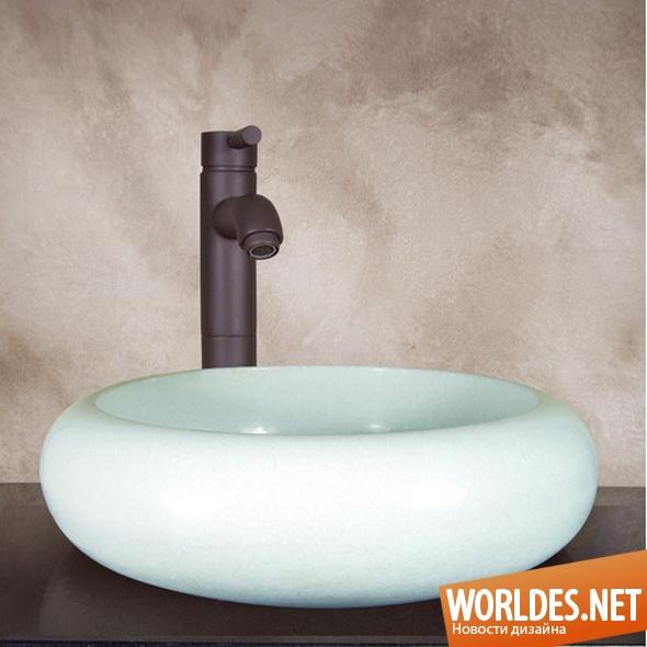 дизайн ванной комнаты, дизайн раковины для ванной комнаты, дизайн раковины, раковина, ванная комната, современная раковина, круглая раковина