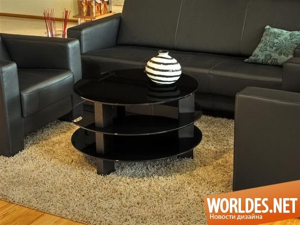 дизайн мебели, дизайн столиков, мебель, современная мебель, столики, столики для гостиной, круглые столики, стеклянные столики