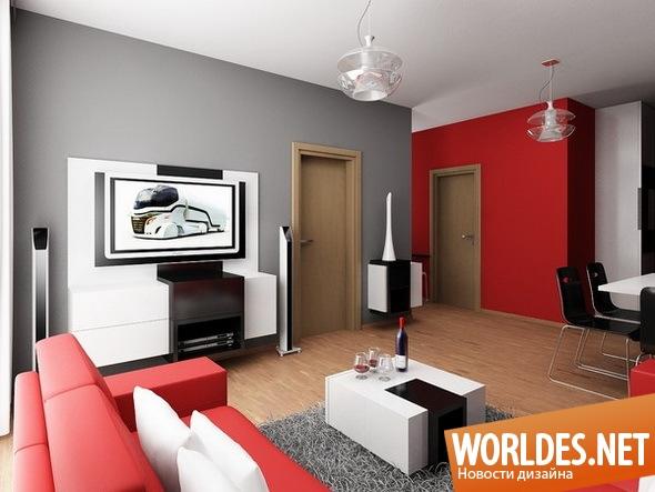 дизайн интерьера, дизайн интерьеров, дизайн интерьера квартиры, дизайн квартиры, интерьер квартиры, квартира, современная квартира, квартира с современным интерьером, современный интерьер