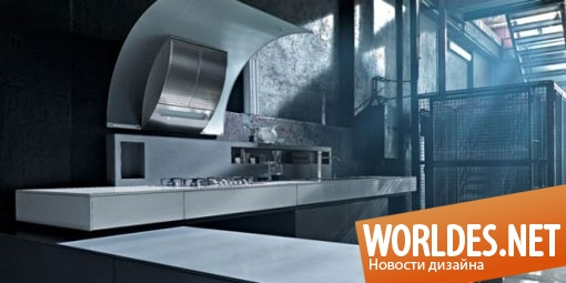 дизайн, дизайн кухни, дизайн кухонной комнаты, дизайн современной кухни, дизайн кухни в индустриальном стиле, кухня, кухня в индустриальном стиле, современная кухня