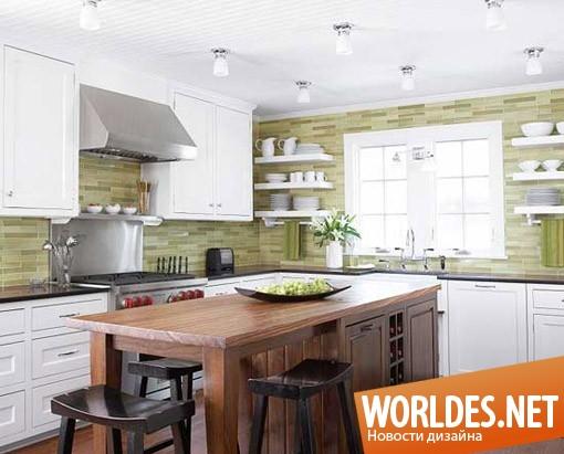 дизайн кухни, дизайн кухонь, кухни, современные кухни, современная кухня, кухня, кухня в зеленых оттенках, кухни в зеленых оттенках