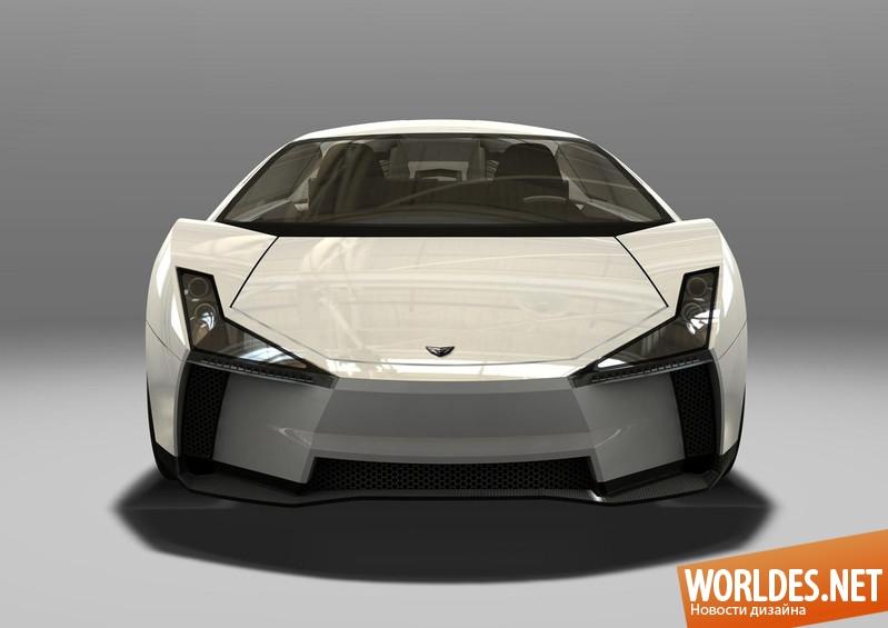 дизайн, транспортный дизайн, дизайн авто, автодизайн, дизайн автомобиля, дизайн Lamborghini, дизайн Indomable, Indomable, Lamborghini