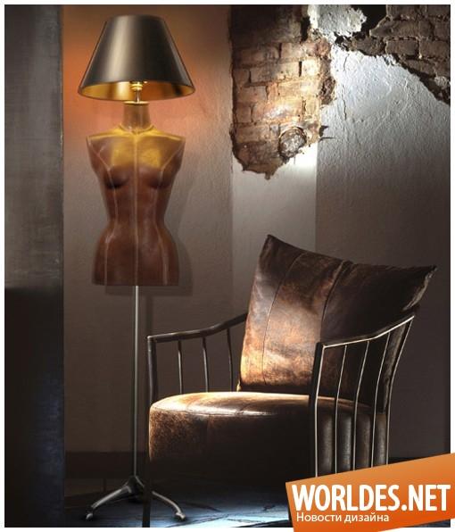 дизайн, декоративный дизайн, дизайн лампы, дизайн освещения, лампы, лампа, лампа «Леди»