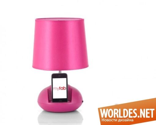 декоративный дизайн, декоративный дизайн ламп, дизайн современных ламп, лампы, современные лампы, оригинальные лампы, лампы для IPod