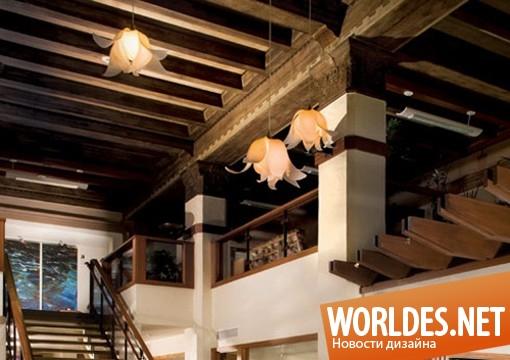декоративный дизайн, декоративный дизайн ламп, дизайн современных ламп, лампы, современные лампы, оригинальные лампы, органические лампы, лампы в виде цветов, красивые лампы