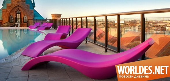 дизайн мебели, дизайн лежаков, мебель, садовая мебель, лежаки, современные лежаки, лежаки для сада