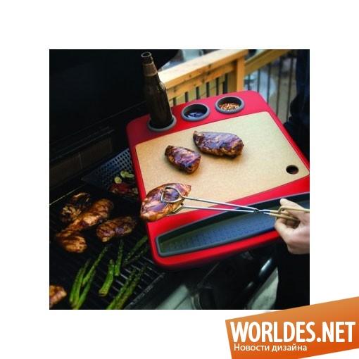 дизайн аксессуаров, дизайн аксессуаров для кухни, дизайн кухонных аксессуаров, дизайн лотка для барбекю, лоток для барбекю, практичный лоток для барбекю, современный лоток для барбекю