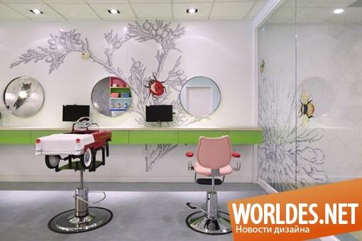 дизайн интерьера, дизайн интерьеров, интерьер, современный интерьер, интерьер салона