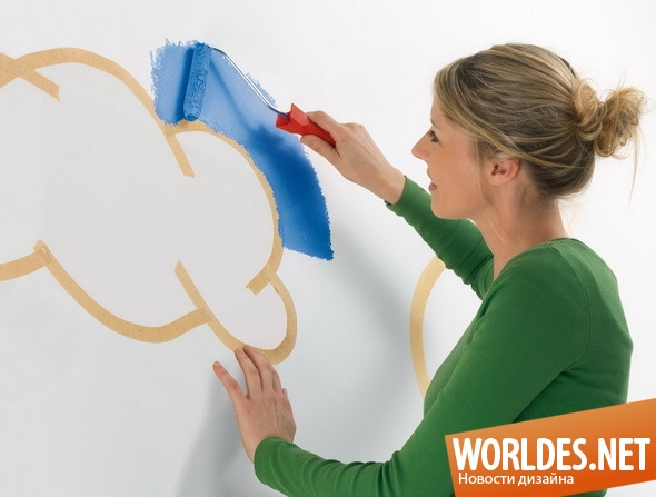 дизайн аксессуаров, дизайн аксессуаров для дома, аксессуары, аксессуары для дома, ленты, маскировочные ленты для покраски, ленты для покраски