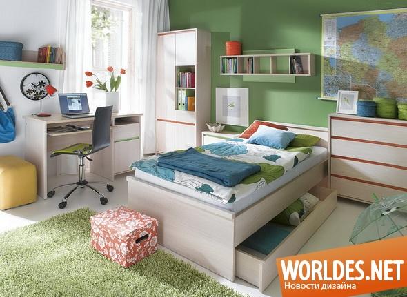 дизайн мебели, дизайн мебели для подростков, мебель, современная мебель, функциональная мебель, мебель для подростков