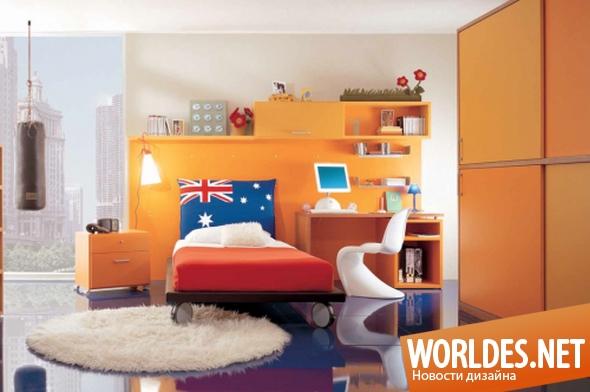 дизайн мебели, мебель, мебель для детской комнаты, детская мебель, современная детская мебель, яркая мебель для детских комнат, красивая мебель для детских комнат