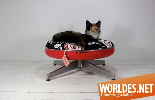 декоративный дизайн, декоративный дизайн мебели для котов, мебель для котов, мебель для котов в винтажном стиле