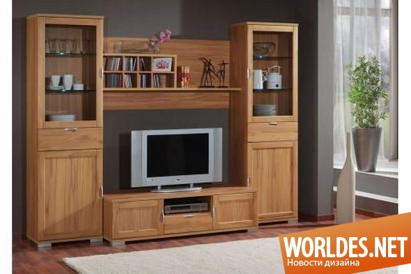 дизайн мебели, мебель, мебель для гостиной, стенка для гостиной, мебельная стенка, мебельные стенки для гостиной