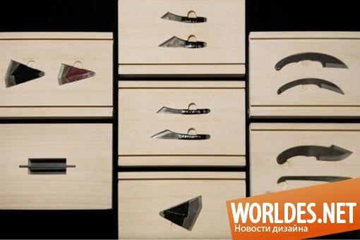 дизайн аксессуаров, дизайн аксессуаров для кухни, дизайн кухонных аксессуаров, дизайн контейнера для хранения ножей, контейнер для хранения ножей